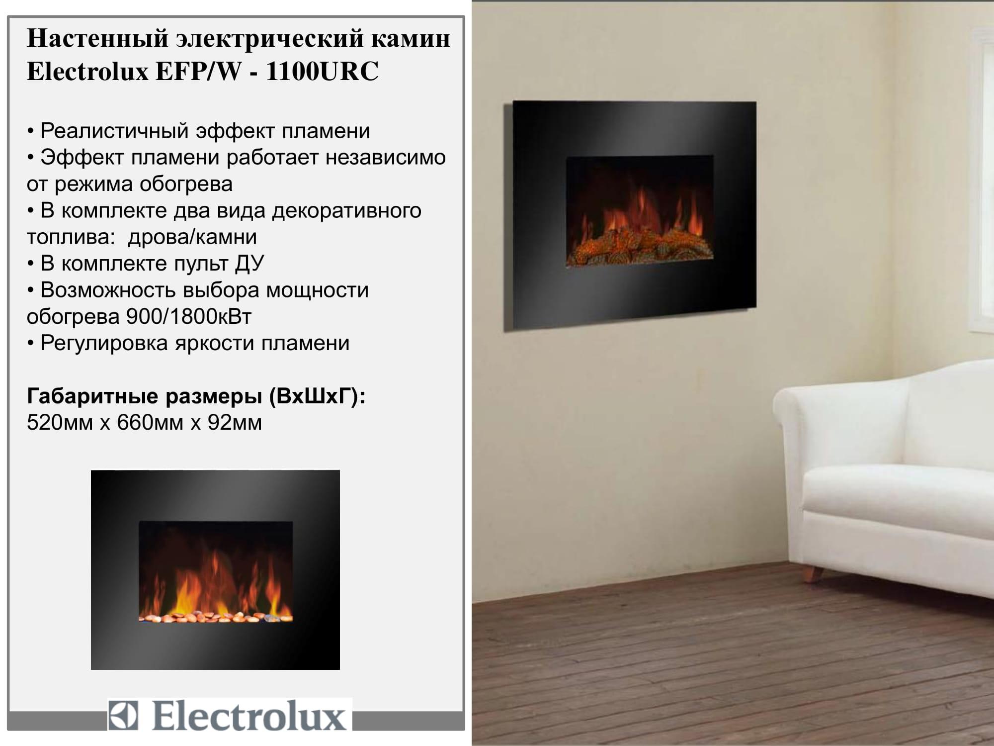 Electrolux EFP/W-1100URC