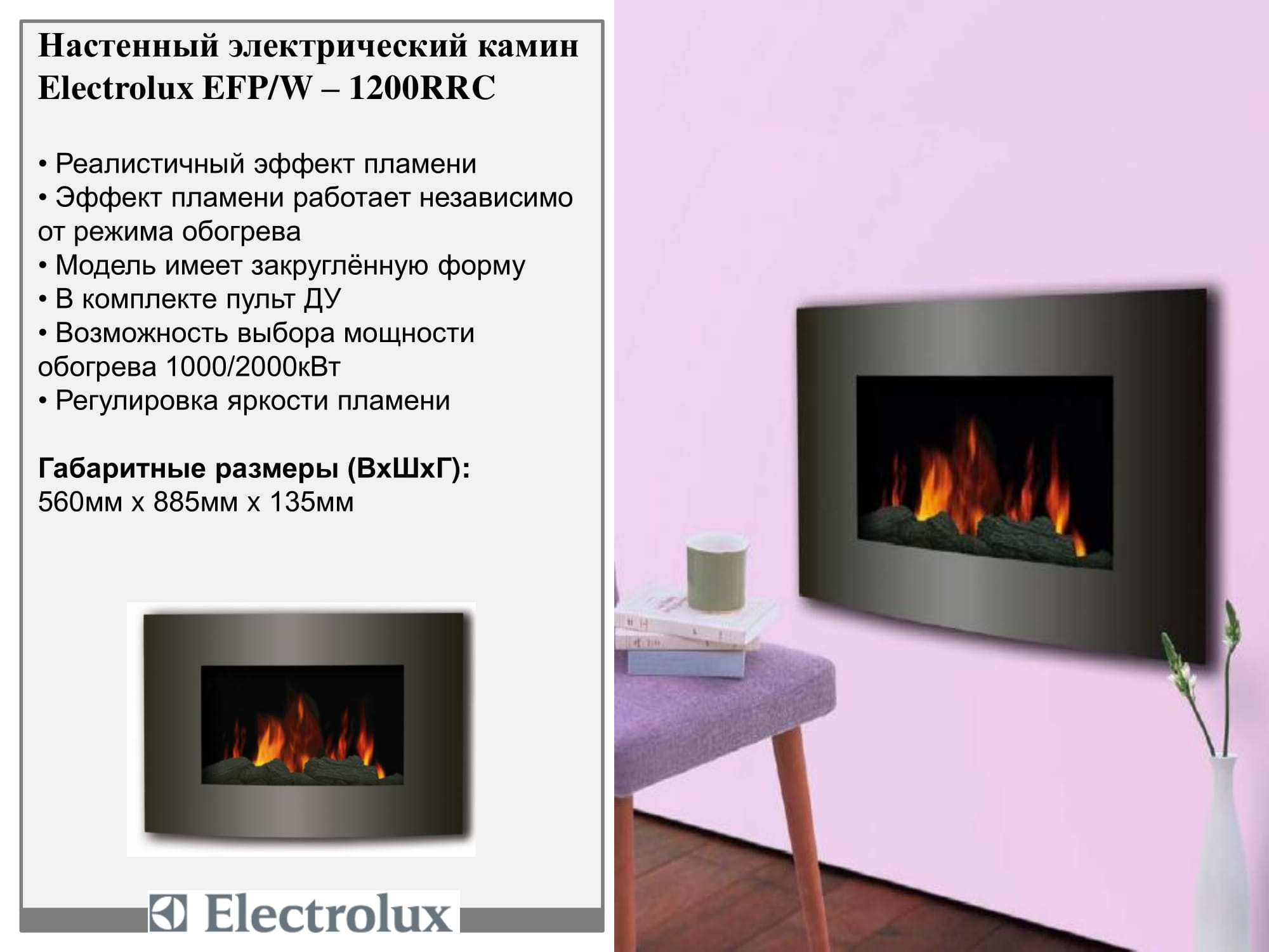 Electrolux EFP/W-1200RRC
