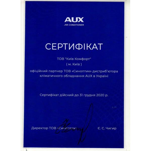 Кондиционер настенный AUX ASW/AS-H09B4/HER1 Black EER/COP