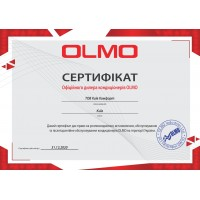 Сертификаты Киев Комфорт от производителя Olmo — фото №2