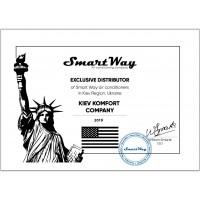 Сертификаты Киев Комфорт от производителя SmartWay — фото №1