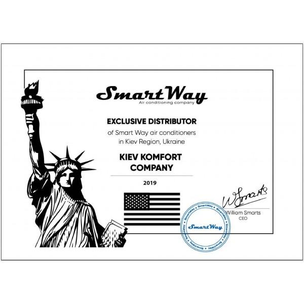 Кондиционер настенный SmartWay SAFN-E09APL/SAFN-E09APL EER/COP