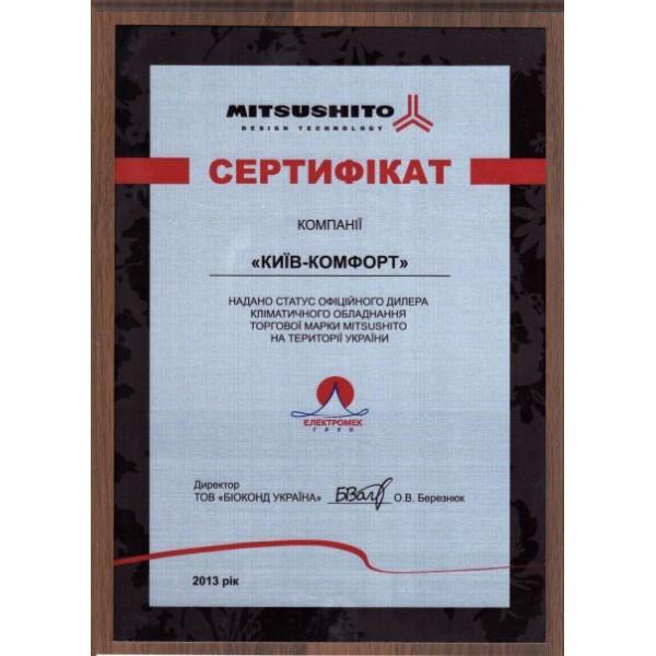 Кондиционер настенный Mitsushito SMK21LG1 / SMC21LG1 EER/COP