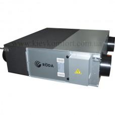 Приточно-вытяжная установка с рекуперацией Roda LMW-1000K