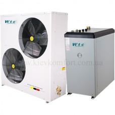 Тепловой насос WOTECH Воздух-Вода (серия SPLIT EVI) WBC-19.5H-B-S