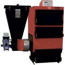 Твердотопливный жаротрубный котел Roda EK3G/S-1020 (два шнека)