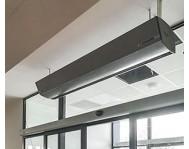 Промышленные воздушные тепловые завесы