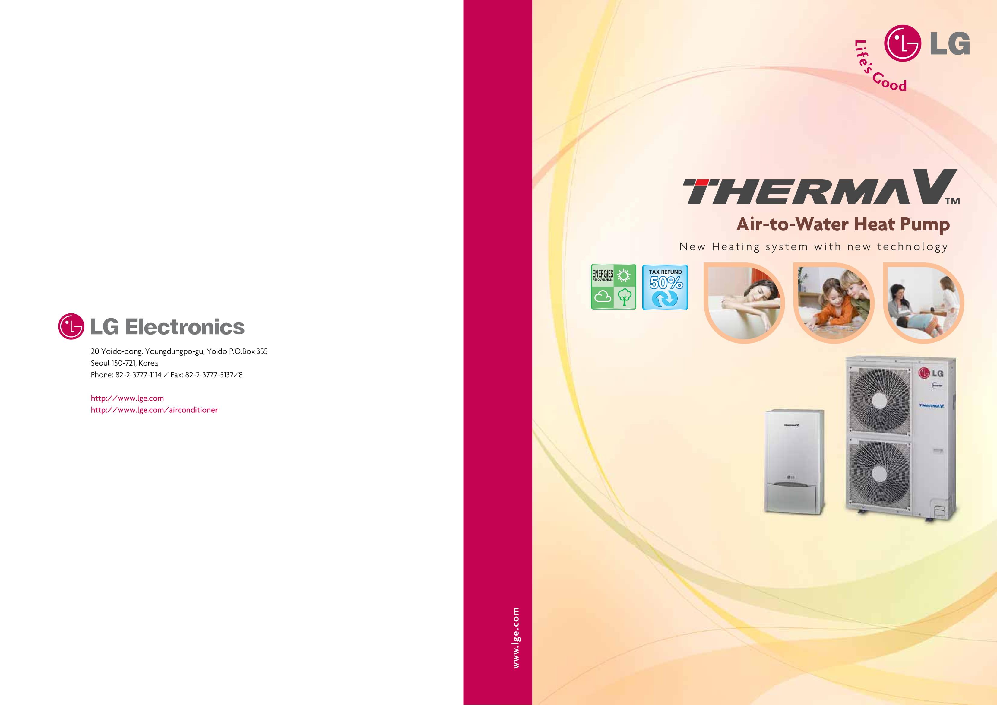 каталог therma V LG