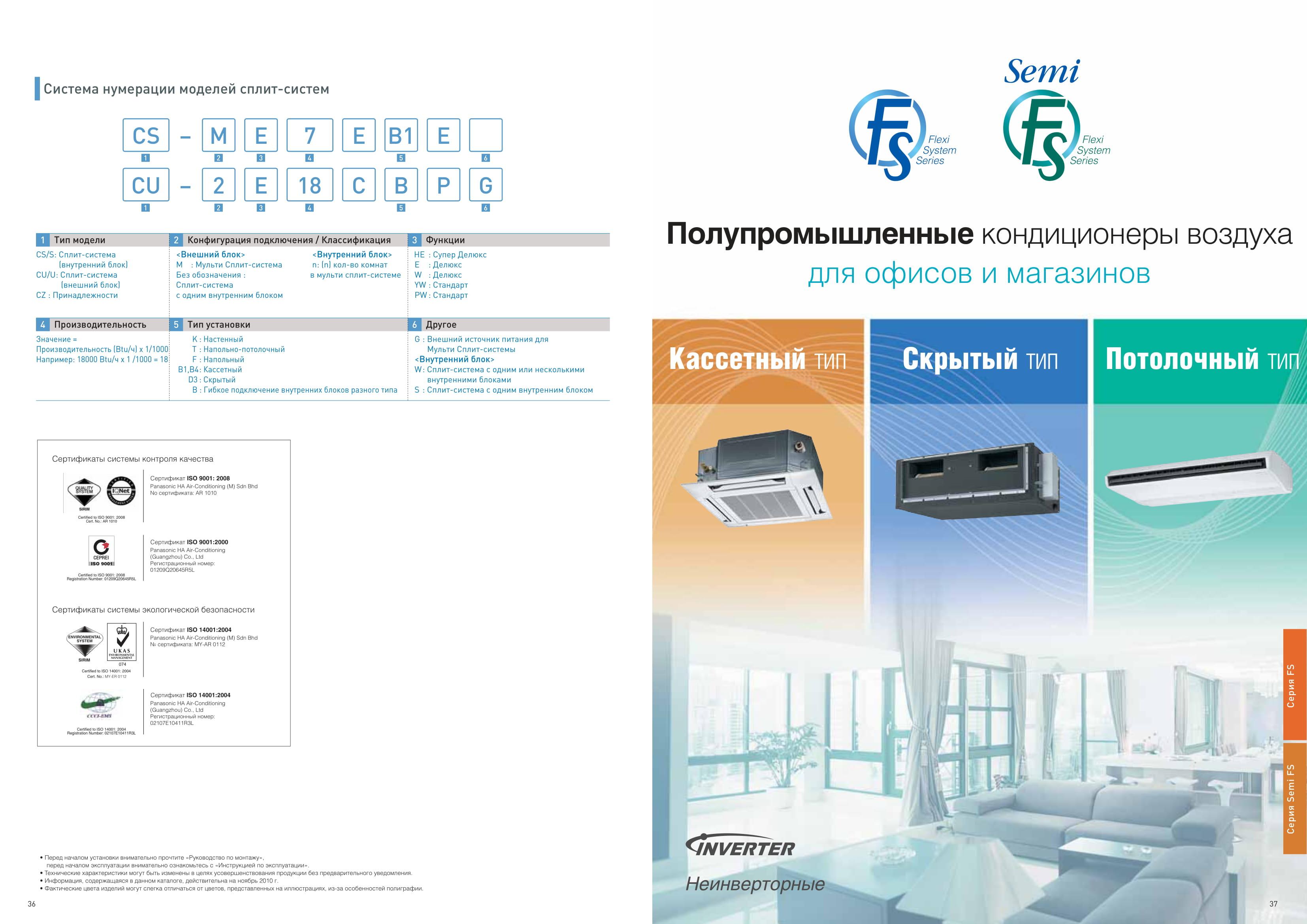каталог Panasonic полупром 2011