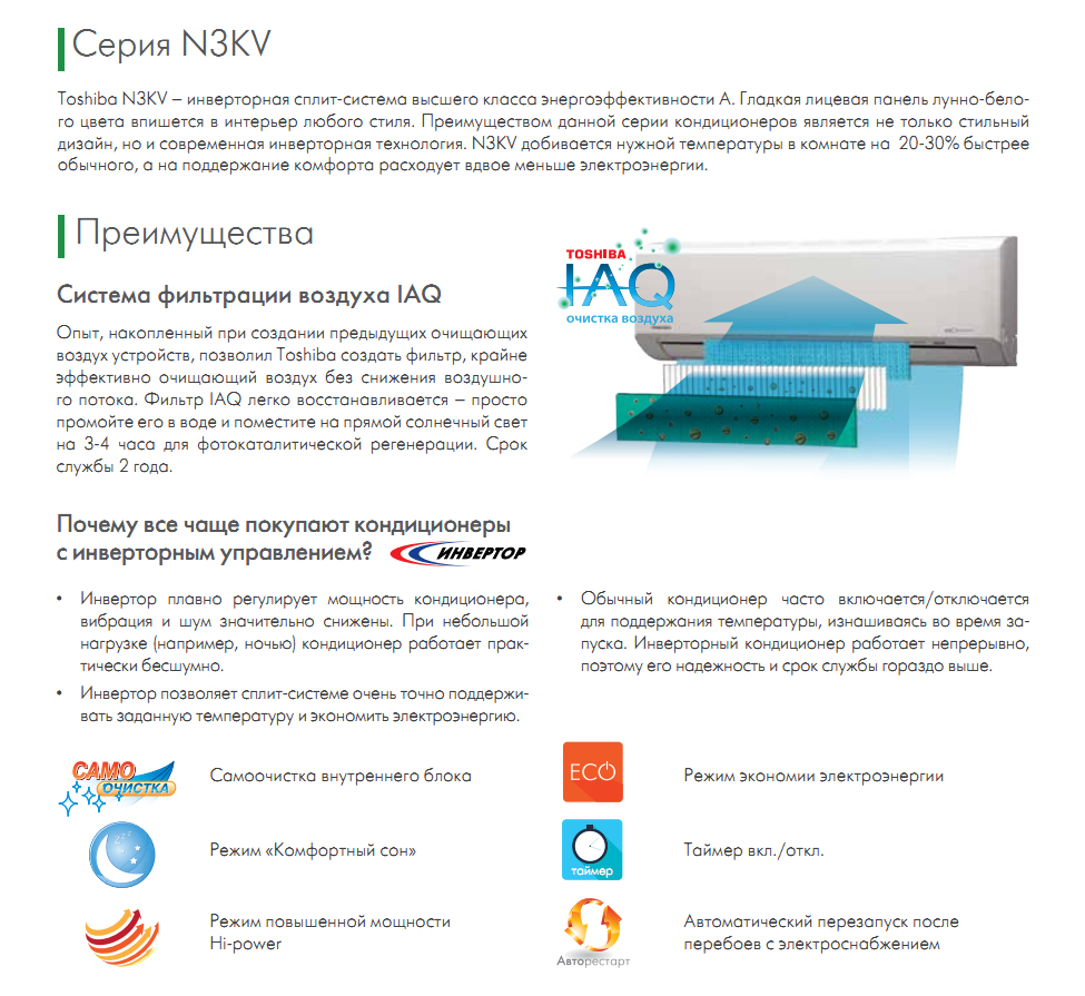 Описание серии N3KV