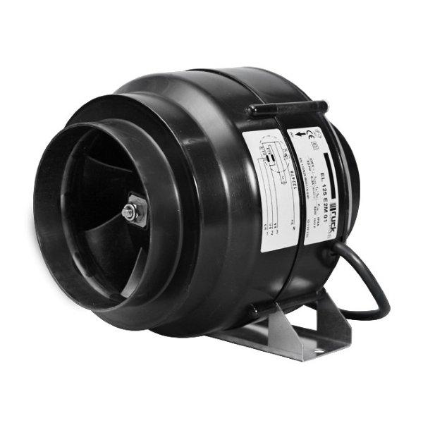 Канальный вентилятор для круглых каналов, трехступенчатый RUCK EL 200L E2M 01