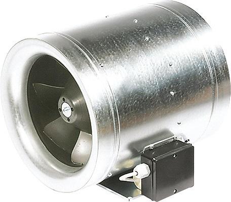 Канальный вентилятор для круглых каналов, управление по напряжению RUCK EL 355 E2 01