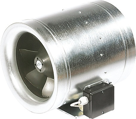 Канальный вентилятор для круглых каналов, управление по напряжению RUCK EL 400 E4 01